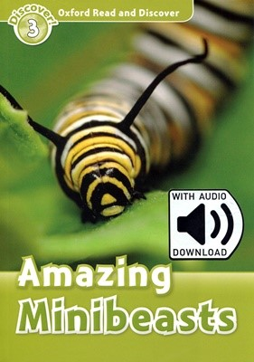 Read and Discover 3: Amazing Minibeasts (with MP3)