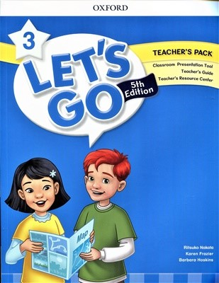 Let's Go 3 Teacher's Book (Online Practice & Teacher's Resource Center) [5th editon]