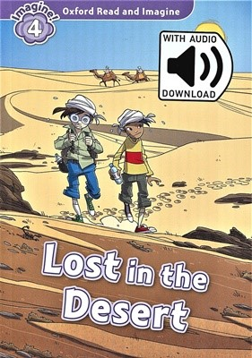 Read and Imagine 4: Lost In The Desert (with MP3)