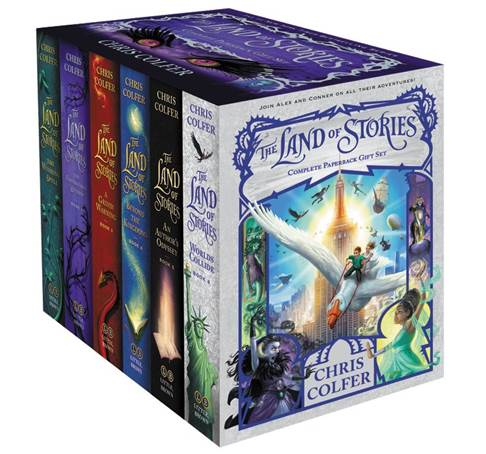 The Land of Stories Complete Paperback Gift Set