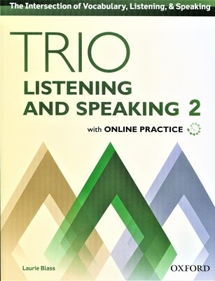 Trio Listening and Speaking 2 Student Book with Online Practice