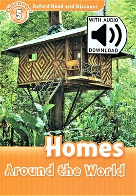 Read and Discover 5: Homes Around the World (with MP3)