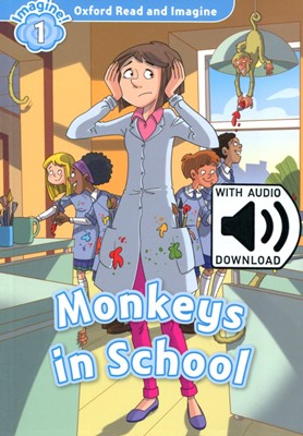 Read and Imagine 1: Monkeys in School (with MP3)