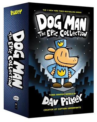 Dog Man #1-3 Boxed Set:The Epic Collection:From the Creator of Captain Underpants (Hardcover)