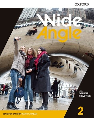 Wide Angle 2 Student Book with Online Practice Pack