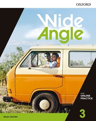 Wide Angle 3 Student Book with Online Practice Pack
