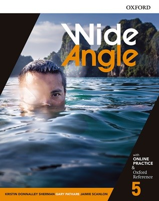 Wide Angle 5 Student Book with Online Practice Pack