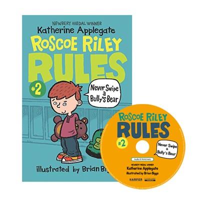 Roscoe Riley Rules #2: Never Swipe a Bully's Bear (Book+CD)-2nd