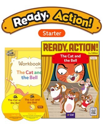 Ready Action 2E Starter The Cat and the Bell Pack (SB with Audio CD, Digital CD, Workbook)