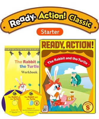 Ready Action Classic Starter The Rabbit and the Turtle Pack (SB with Audio CD, Digital CD, Workbook)