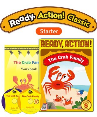 Ready Action Classic Starter The Crab Family Pack (SB with Audio CD, Digital CD, Workbook)
