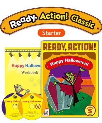 Ready Action Classic Starter Happy Halloween! Pack (SB with Audio CD, Digital CD, Workbook)