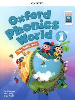 [NEW] Oxford Phonics World 1 SB with download the app