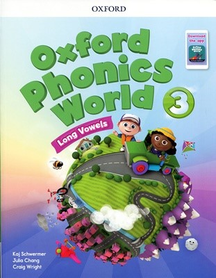 [NEW] Oxford Phonics World 3 SB with download the app