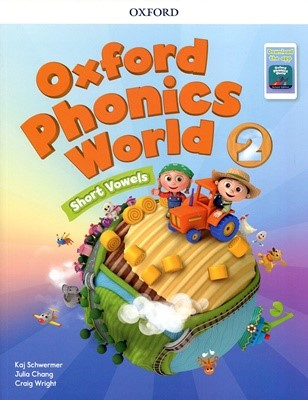 [NEW] Oxford Phonics World 2 SB with download the app
