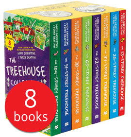The 13-Storey Treehouse Collection (8 Books, 영국판)