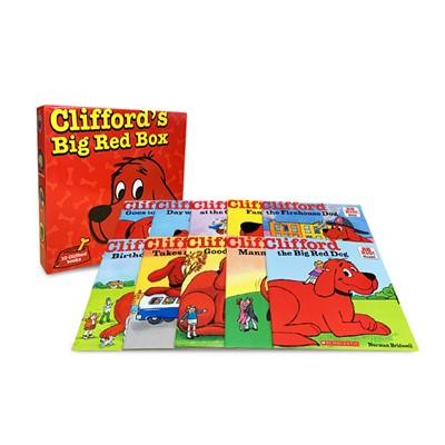 Clifford's Big Red Box Set (10 Paperbacks)
