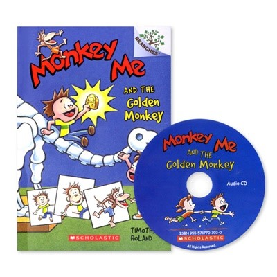 MONKEY ME #1:MONKEY ME AND THE GOLDEN MONKEY (WITH CD)
