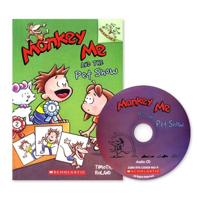MONKEY ME #2:MONKEY ME AND THE PET SHOW (WITH CD)