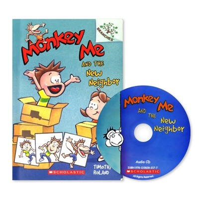 MONKEY ME #3:MONKEY ME AND THE NEW NEIGHBOR (WITH CD)