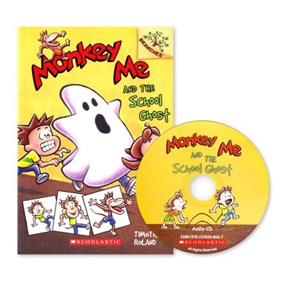 MONKEY ME #4:MONKEY ME AND THE SCHOOL GHOST (WITH CD)