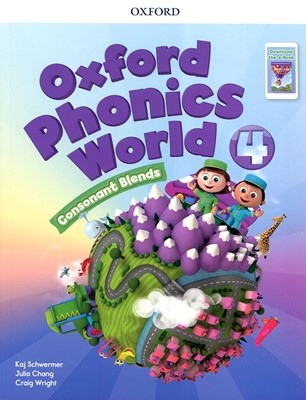 [NEW] Oxford Phonics World 4 SB with download the app