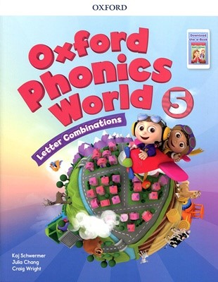 [NEW] Oxford Phonics World 5 SB with download the app