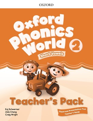 [NEW] Oxford Phonics World 2 Teacher's pack