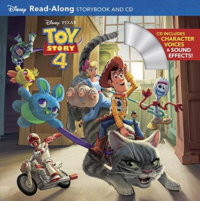 Toy Story 4 Read-Along Storybook and CD Paperback