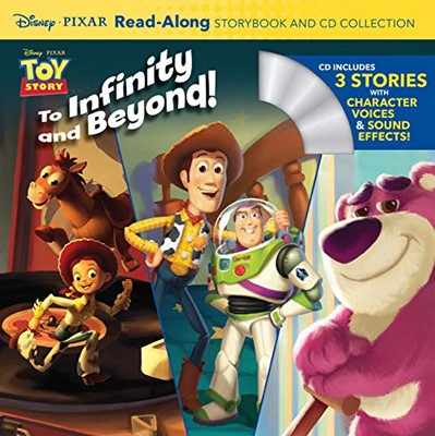 Toy Story Read-Along Storybook and CD Collection (includes 3 stories)