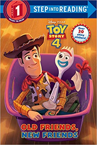 [행사]Step into Reading(Step1):Old Friends, New Friends (Disney/Pixar Toy Story 4)