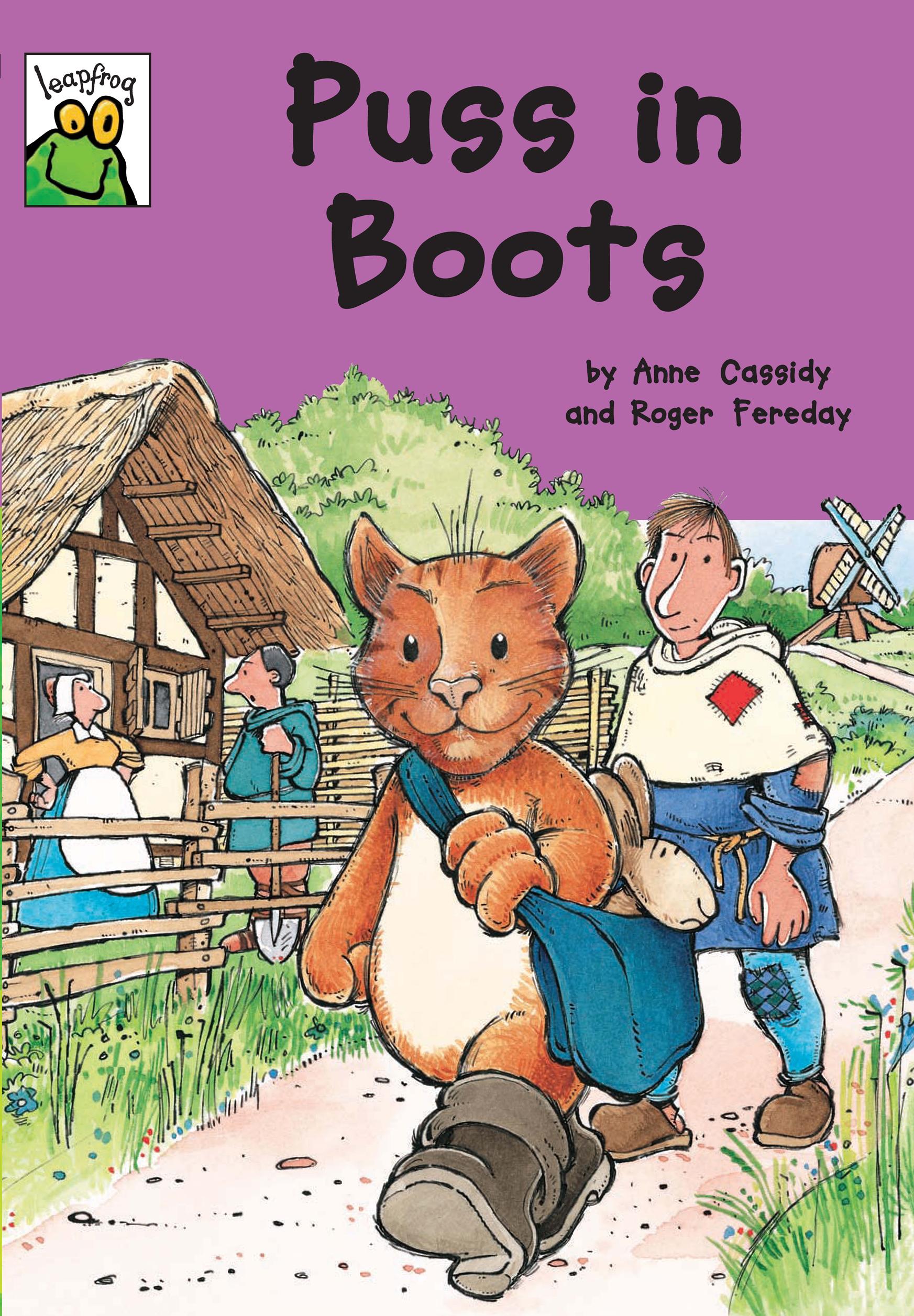 [행사]Istorybook 3 Level C:Puss in Boots(Leapfrog Fairy Tales)