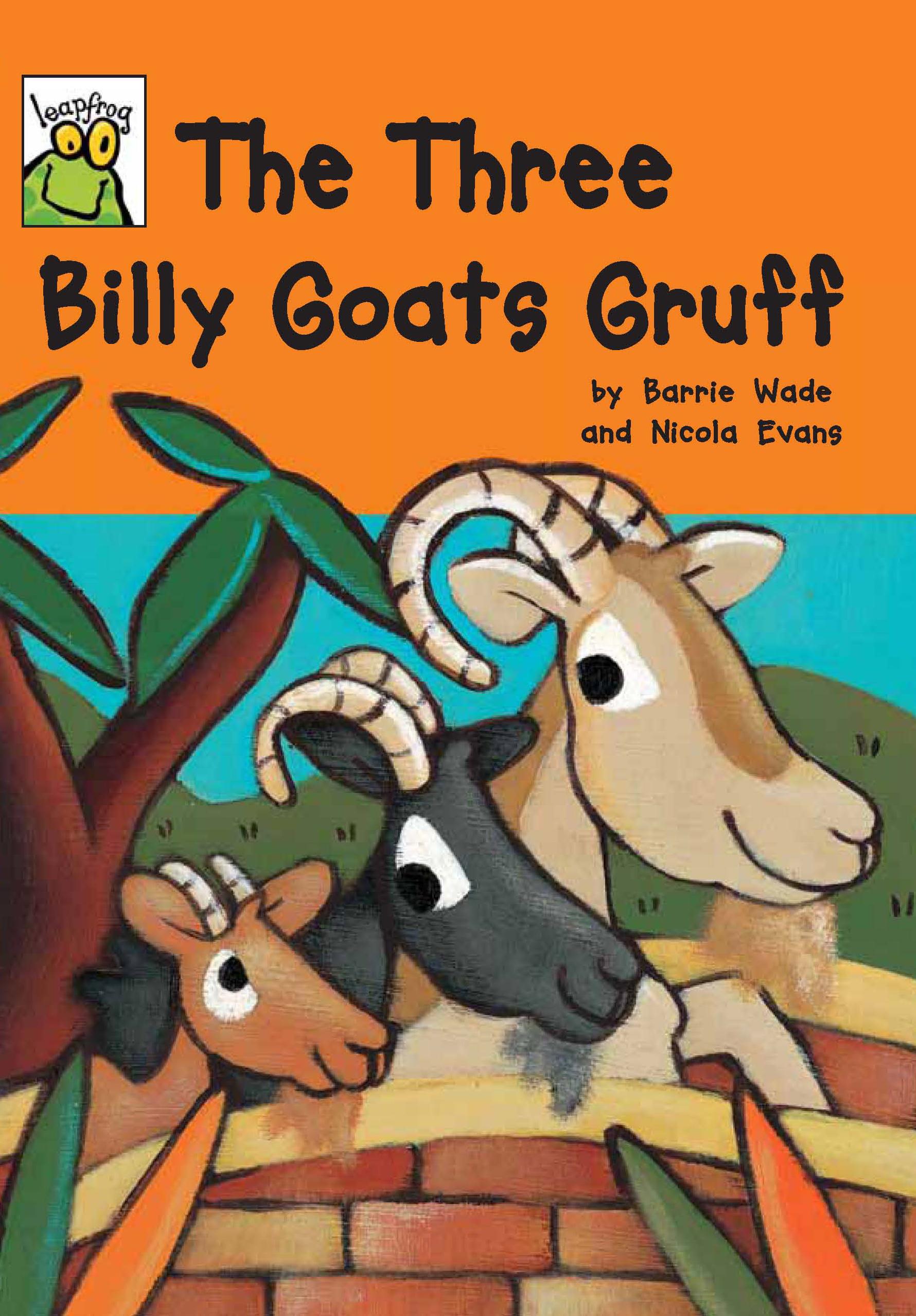 [행사]Istorybook 3 Level C:The Three Billy Goats Gruff (Leapfrog Fairy Tales)