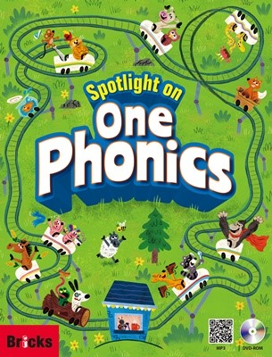 Spotlight on One Phonics Student Book With DVD-ROM+MP3 CD