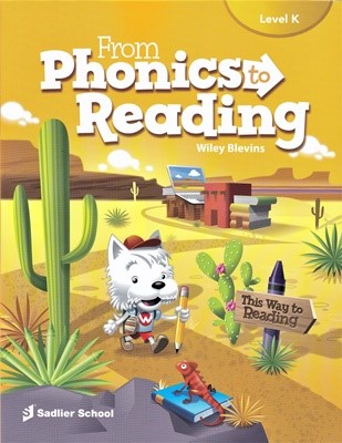 From Phonics to Reading Level K Student's book