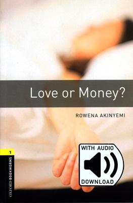 [행사]Oxford bookworms Library 1 Love or Money? Pack (Book+MP3) [영국식 발음]