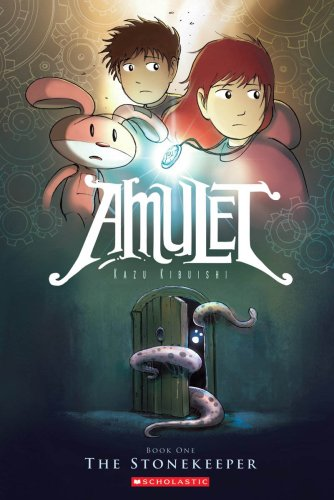 AMULET #1: The Stonekeeper (Paperback)
