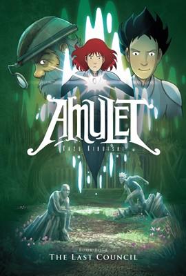 AMULET #4: The Last Council (Paperback)