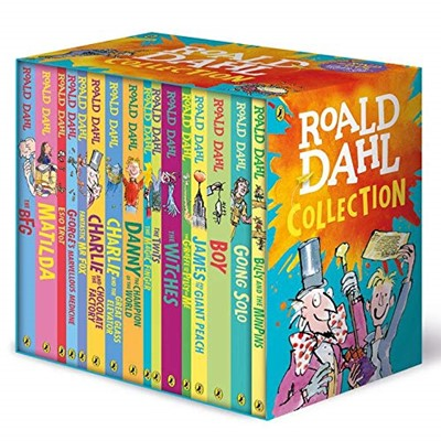 Roald Dahl Collection 16 Books Box Set