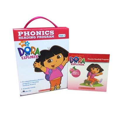 Dora The Explorer Phonics Fun Pack #1 with CD