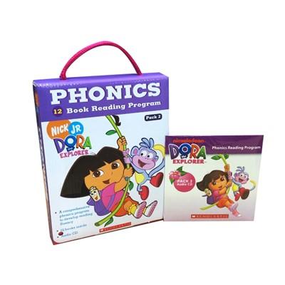 Dora The Explorer Phonics Fun Pack #2 with CD