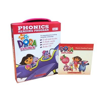 Dora The Explorer Phonics Fun Pack #3 with CD