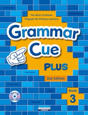 Grammar Cue Plus 3 (Student book, Work book, Hybrid CD) [2nd]
