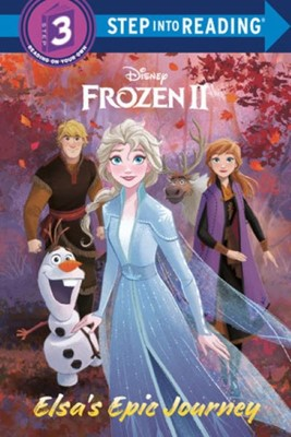 Step into Reading (Step3):Elsa's Epic Journey (Disney Frozen 2)