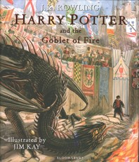 Harry Potter and the Goblet of Fire: Illustrated Edition (영국판,H)