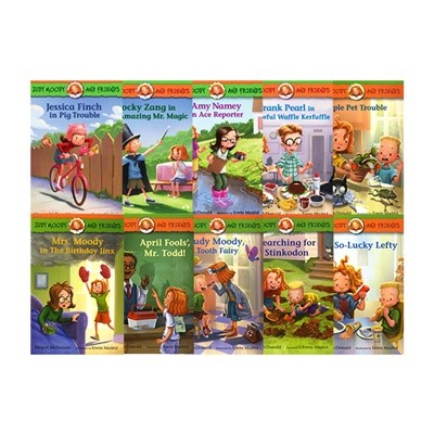 Judy Moody and Friends 10 Book shrink wrap Set