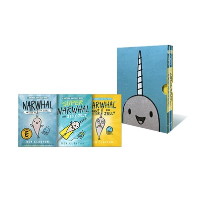 Narwhal and Jelly Collection 1-3 (Paperback, Poster)