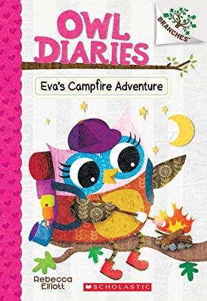Owl Diaries #12:Eva's Campfire Adventure