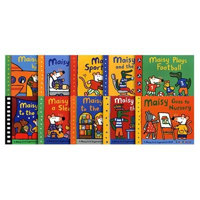 메이지 퍼스트 픽처북 페이퍼백 10종 세트 (우리 아이 첫 원서 그림책) Maisy First Picture Book Collection