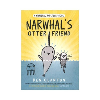 Narwhal and Jelly Book #4 : Narwhal's Otter Friend (PB)